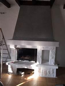Cheminée En Brique : les 25 meilleures id es de la cat gorie relooking cheminee sur pinterest renover cheminee ~ Farleysfitness.com Idées de Décoration