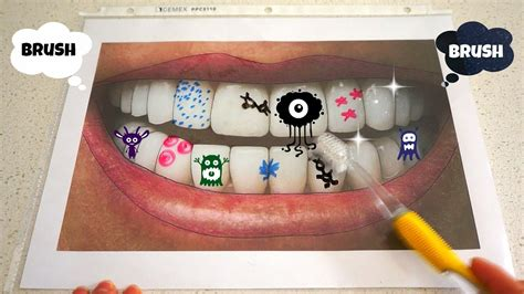 how to get to brush teeth creative activity for 958 | maxresdefault