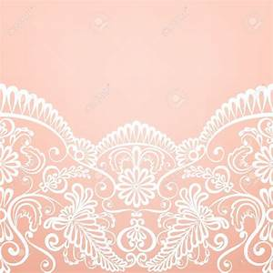 Template for wedding invitation or greeting card with for Lace fabric wedding invitations