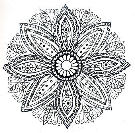 dots  doodles mandala
