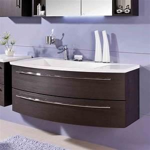 Waschtischunterschrank 120 Cm : puris crescendo waschtischunterschrank 120 x 47 x 48 cm f r waschtisch mit ablage rechts ~ Indierocktalk.com Haus und Dekorationen