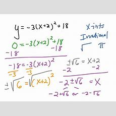 Solving Quadratic Equations By Using Square Roots Calculator Tessshebaylo