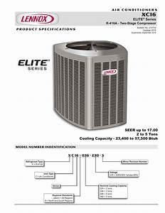 Lennox 5 Ton Central Air Conditioner