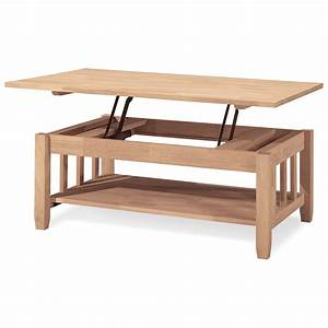 international concepts mission solid wood lift top coffee With real wood lift top coffee table
