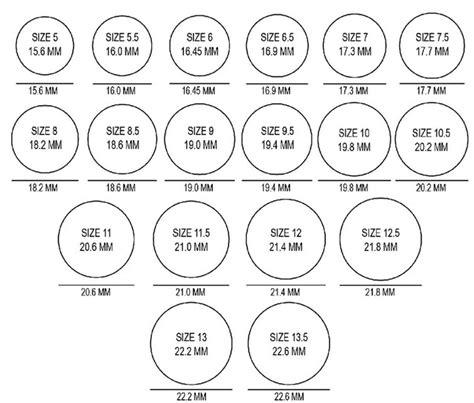 ring sizing chart tonimay