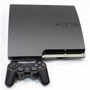 Sony Playstation 3 Ps3 Slimline Slim 120gb Charcoal