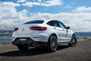 bmw car mercedes glc coupe review