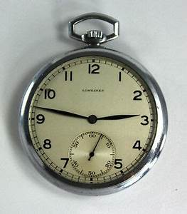 Rare longines Art Deco Antique Swiss Frack Watch Pocket ...