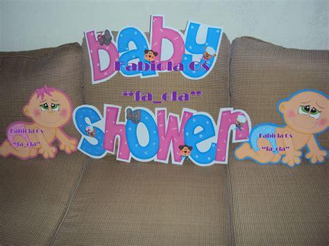 fa ola evart`s: Letrero baby Shower