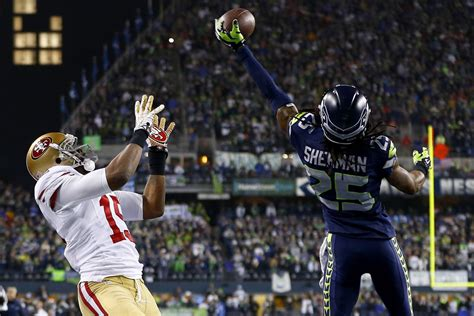 nfc championship game ers  seahawks seattle