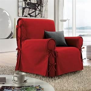 Housse De Fauteuil : housse de fauteuil victoria rouge housse de fauteuil eminza ~ Teatrodelosmanantiales.com Idées de Décoration
