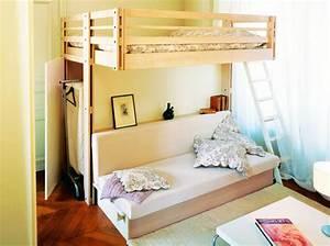Lit Mezzanine Dressing : 15 id es de dressing pour un petit appartement page 3 ~ Premium-room.com Idées de Décoration