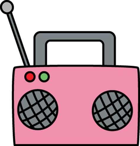 Radio Clipart Pink Radio Clip Pink Radio Image
