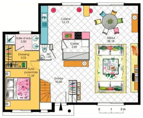 deco de chambre parentale maison contemporaine 5 dé du plan de maison