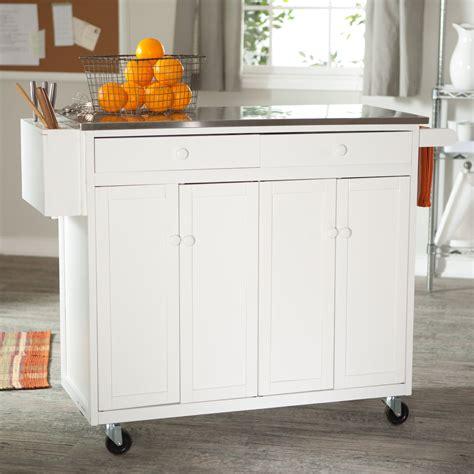 randall portable kitchen island  optional stools