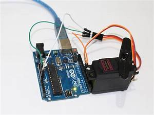 Servo Control With Arduino Through Matlab
