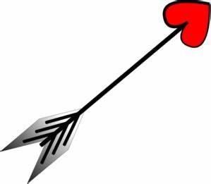 Arrow Heart Rotated Clip Art at Clker.com - vector clip ...