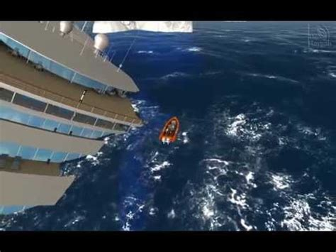 video ms oceana sinks ship simulator extremes