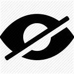 Icon Eye Cross Icons Close Vector Unicons