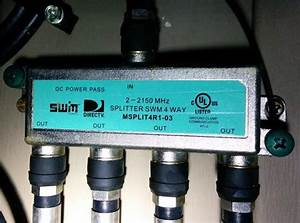 Wiring - Can I Use A Directv 4 Way Splitter To Connect To An Over The Air Tv Antenna