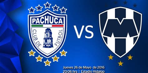 pachuca  monterrey en vivo  liga mx final