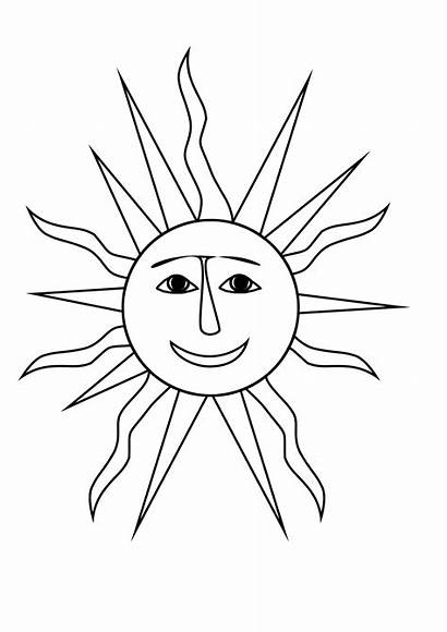 Coloring Pages Summer Sun Printable Suns Sunglasses