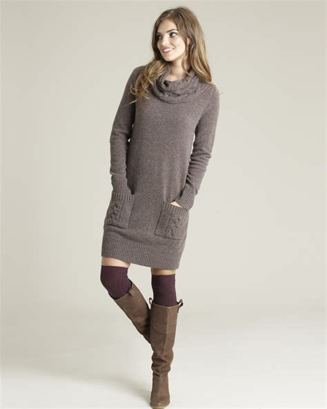 sweaters to wear with wool cable knit sweater dress