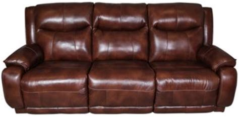 southern motion velocity leather reclining sofa w power