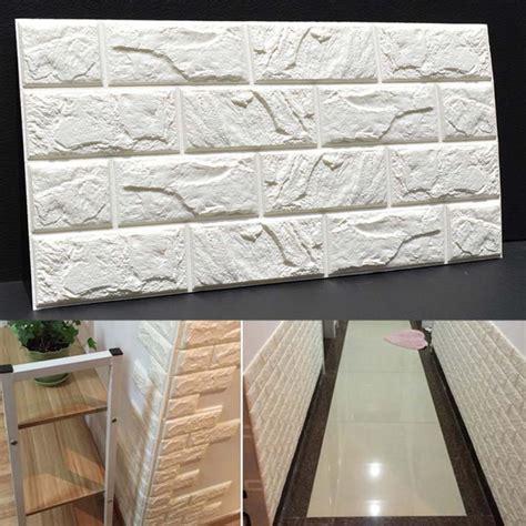 3d Brick Wallpaper South Africa by Pe Foam 3d Diy Brick Wall Stickers Home Decor Poster