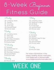 8-week Beginner Fitness Jumpstart  Week One