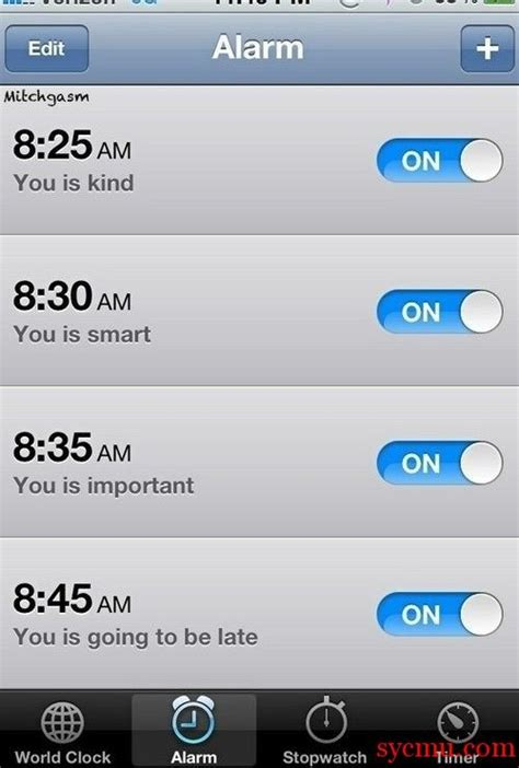 where is alarm on iphone iphone alarm pictures from sycmu