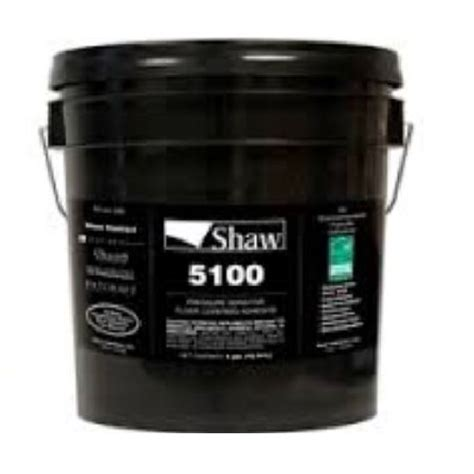 shaw flooring adhesives shaw 5100 commercial carpet tile adhesive 4 gallon