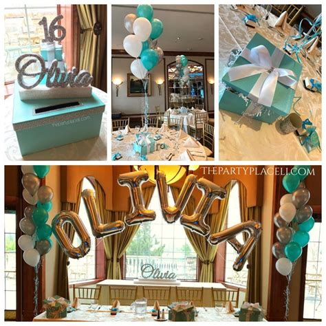 Sweet 16 Decorations Card Boxes Sign In Boards Sign In