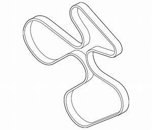 Genuine Bmw Serpentine Belt 11