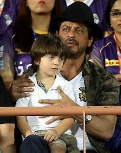 Shah Rukh Khan and son AbRam seen sporting matching ...