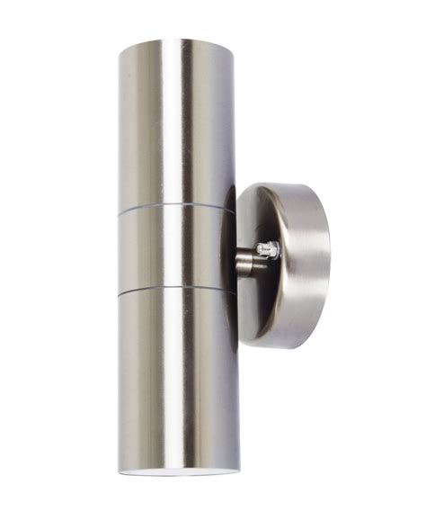 lucci project up exterior wall bracket in stainless steel