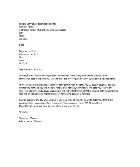 Termination Letter Template 35 Termination Letter Sles Lease Employee