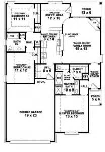 Single Story Bedroom House Plans by 3 Bedroom House Plans 1 Story Arts Single Story