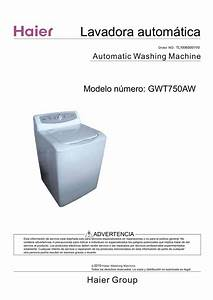 Manual Servicio Lav Gwt750aw
