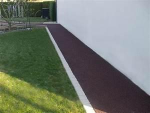 enrobe permeable rouge cote exterieur a mayenne 53 With plan maison avec tour 16 terrasse en beton desactive realisations