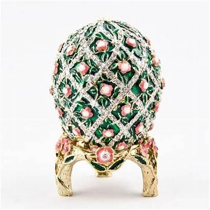 Faberge Egg Rose Trellis Eggs Uova Huevo