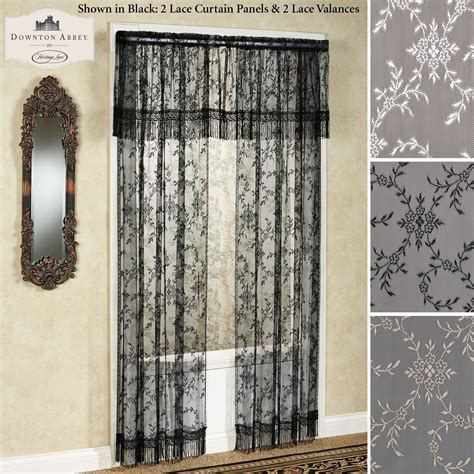 Downton Abbey Yorkshire Lace Window Treatment