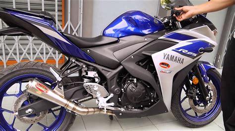 Yamaha R25 Backgrounds by Ahm Pro Racing Exhaust Model Gp3 Yamaha R25