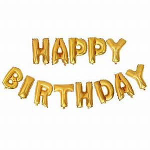 happy birthday letter shaped foil balloons buy foil With happy birthday foil balloon letters