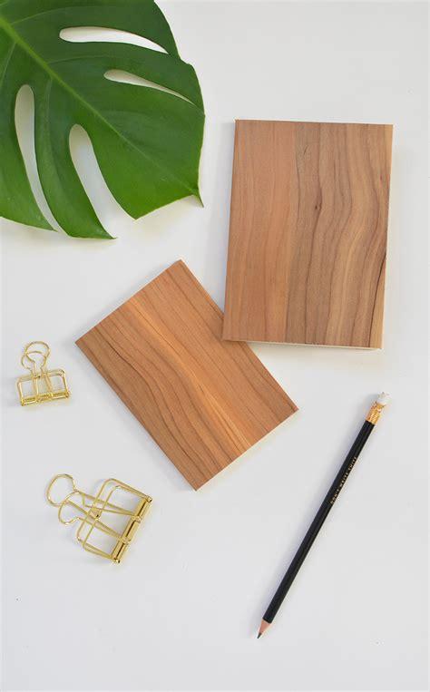 diy wood notebook burkatron