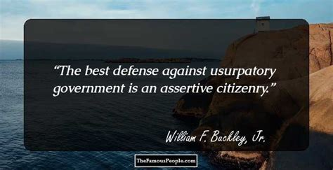thought provoking william  buckley jr quotes