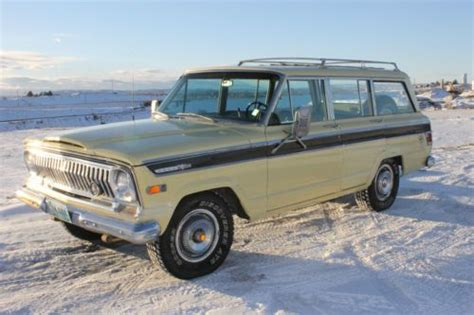 jeep gladiator 1970 purchase used 1970 jeep wagoneer gladiator 81k original