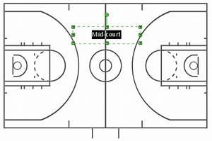 basketball court design template - create basketball court diagram conceptdraw helpdesk
