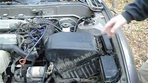 How To Replace Air Filter Console Toyota Camry  2 2 Liter