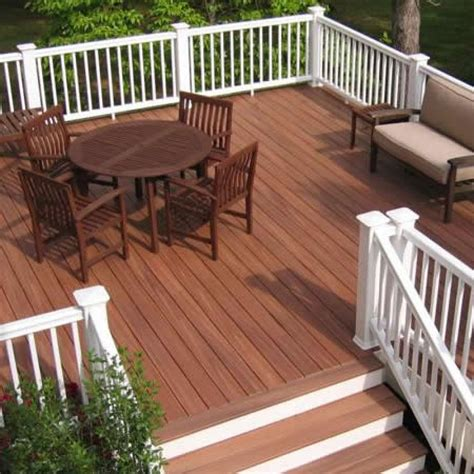 composite decks here s a composite deck with white